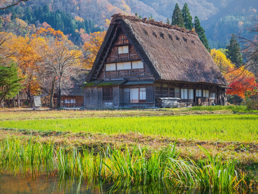 Nakasendo is a great spot for trekking
