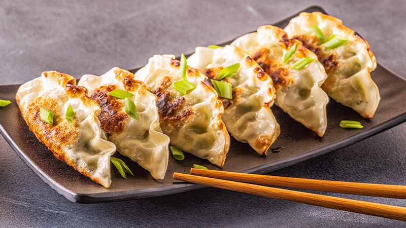Impossible Dumplings recipe using Impossible Beef